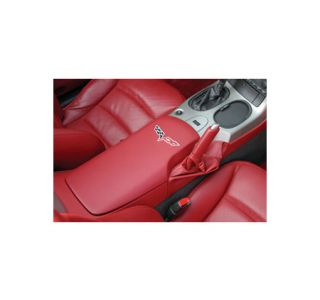 2005-2013 Corvette Embroidered Console Door