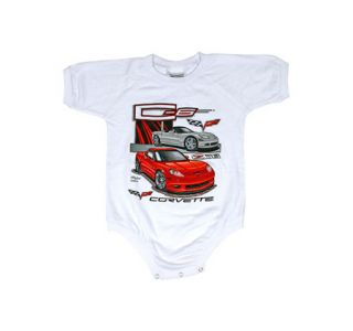 Kids C6 Corvette Onesie
