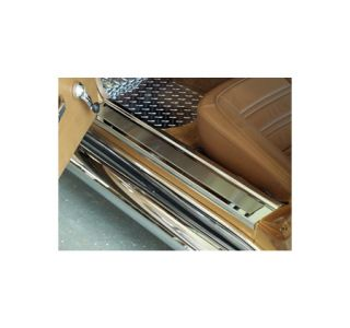 1968-1977 Corvette Custom Stainless Door Sill Plates
