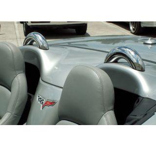 2005-2013 Corvette Conv Stainless Sport Hoops