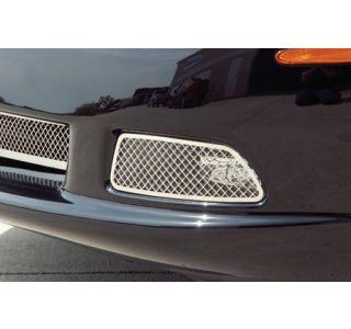 2005-2013 Corvette Laser Mesh Stainless Driving Light Covers