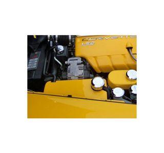 2005-2013 Corvette Painted Radiator Surge Tank Cover