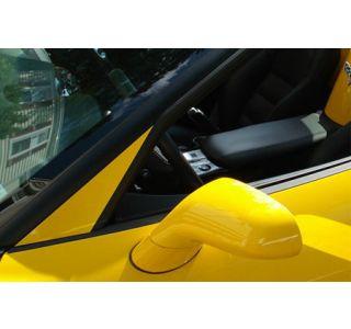 2005-2013 Corvette Painted Windshield Post A-Pillar Trim Cover