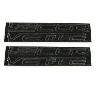 "2008-2013 ""LS3 Corvette"" Fuel Rail Acrylic Letter Kit"