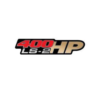 "2005-2007 Corvette ""LS2 400hp"" Fender Emblems"