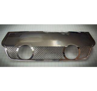 05-13 Laser Mesh Exhaust Port Filler Panel - 4in Dual Corsa