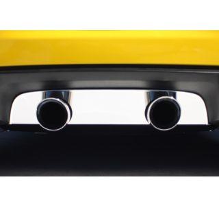"2005-2013 Corvette Stainless Exhaust Port Filler Panel - 4"" Dual Corsa"
