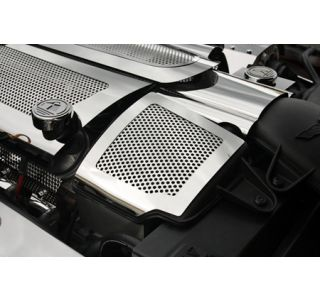 2008-2013 Corvette Perforated Stainless Helmholtz Resonator Cover