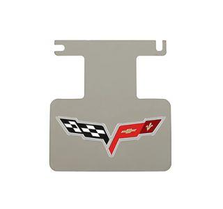 2005-2013 Corvette Rear Enhancement Plate w/Corvette Emblem