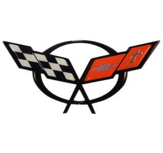 C5 Corvette Front Emblem Metal Sign