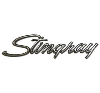 Corvette Stingray Metal Sign