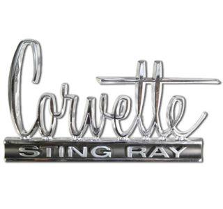 1966 Corvette Stingray Metal Sign