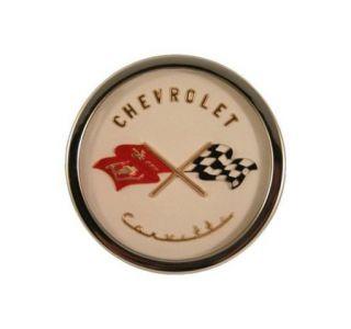 1953-1955 Corvette Emblem Metal Sign