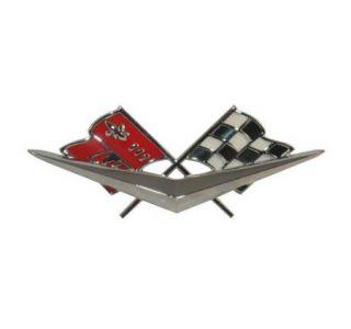 1961 Corvette Nose Emblem Metal Sign