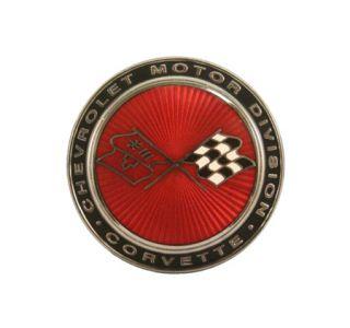 1973-1974 Corvette Nose Emblem Metal Sign