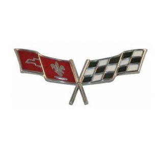 1977-1979 Corvette Nose Emblem Metal Sign