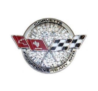 1978 Corvette Nose Emblem Metal Sign