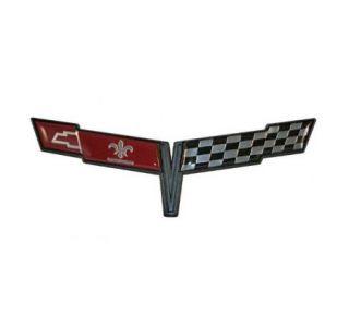 81 Corvette Nose Emblem Metal Sign