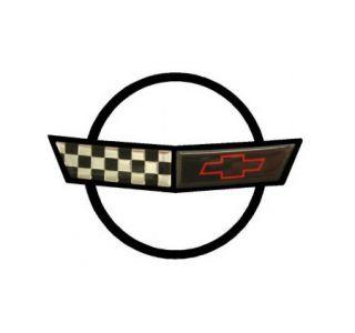 91-96 Corvette Nose Emblem Metal Sign