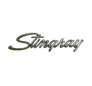 69-76 Corvette Sting Ray Metal Sign