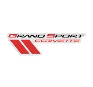 2010-2012 Corvette Grand Sport Metal Sign