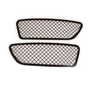 2005-2013 Corvette Blakk Stealth Laser Mesh Front Driving Light Grills