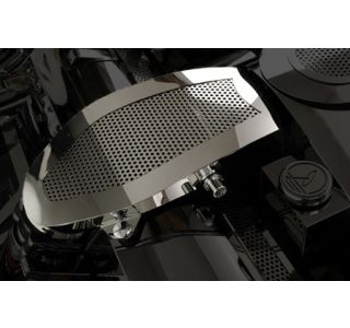 1997-2004 Corvette Perforated Stainless Air Intake Duct Cover