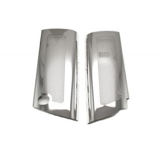 08-13 LS3 Perforated Stainless Replacement Fuel Rail Covers (Default)