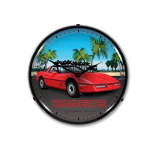 C4 Corvette Lighted Clock