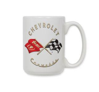 C1 Corvette Emblem Ceramic Coffee Mug