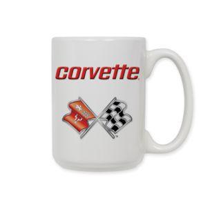 C3 Corvette Emblem Ceramic Coffee Mug