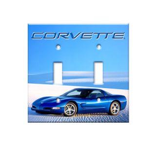 Desert Vette Switch Plate Cover