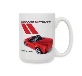 Red Grand Sport Ceramic Coffee Mug