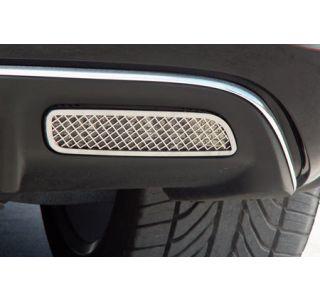 2005-2013 Corvette Laser Mesh Stainless Back-up Light Covers