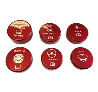 06-13 Z06/ZR1 6-Speed Painted Engine Cap Set w/Graphics