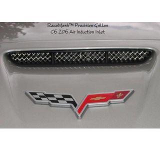 2006-2013 Corvette Z06/ZR1/GS RaceMesh Front Bumper Duct Grilles