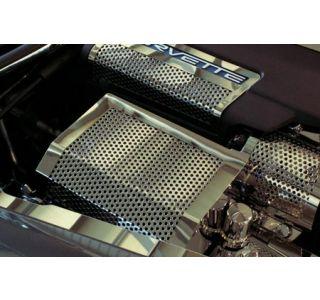 2005-2013 Corvette Perforated Fuse Box Cover