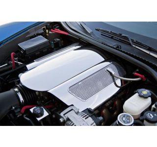 "2006-2013 Corvette LS7 Stainless ""Low Profile"" Plenum Cover"