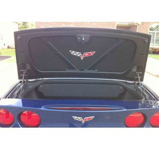 2005-2013 Corvette Conv Trunk Lid Insert w/C6 Emblem