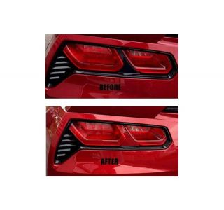 14-18 Painted Tail Light Bar Insert