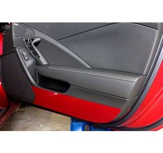 2014-2018 Corvette Painted Door Kick Plates