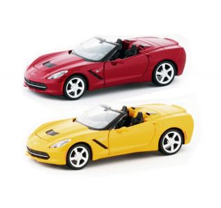 1:24th 2014 Corvette Stingray Convertible Die Cast