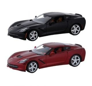 1:18th 2014 Corvette Stingray Die Cast
