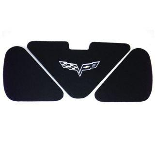 2005-2013 Corvette Conv Trunk Lid Insert w/100th Anniversary Emblem