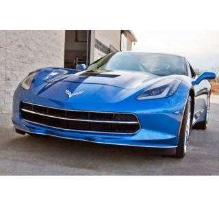 2014-2018 Corvette Stainless Front Lip Spoiler