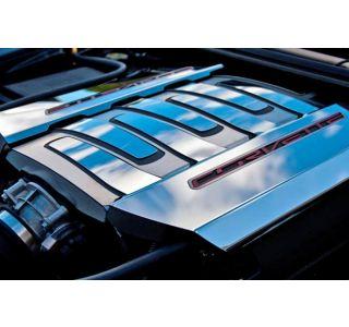 2014-2018 Corvette Stainless Fuel Rail Cover Overlay Trim