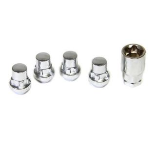 84-18 Chrome Wheel Locking Lug Nut Package