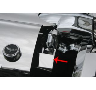 05-07 LS2 Stainless Belt Tensioner Cover