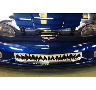 """06-13 Z06 Stainless """"Shark Tooth"""" Front Grille (Default)"""