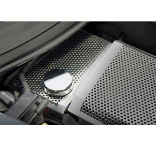 14-18 Perforated Stainless Surge Tank Cover (Default)